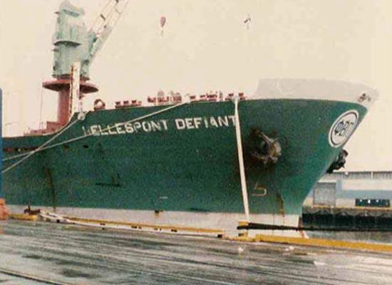 mv Hellespont Defiant